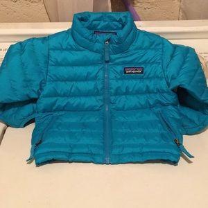 Patagonia puffer jacket 12-18 M